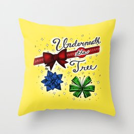 Underneath the Tree Throw Pillow