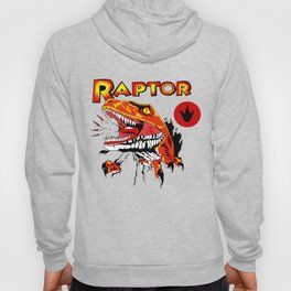 Raptor Dinosaur Ghost World Enid Shirt Digitally Re created Hoody