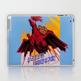 North Korea Propaganda. Construction Laptop & iPad Skin