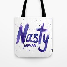 Nasty Woman Art Such a Nasty Woman Watercolor Tote Bag