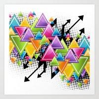 Vector Funk!  Art Print