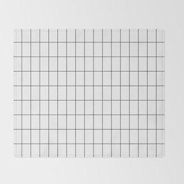 City Grid Throw Blanket