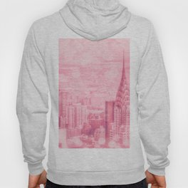 Pink and Bubbly New York City Hoody