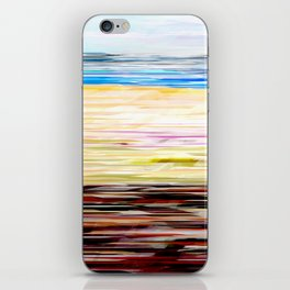 At the beach iPhone Skin