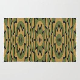 Ethnic geometric pattern Rug