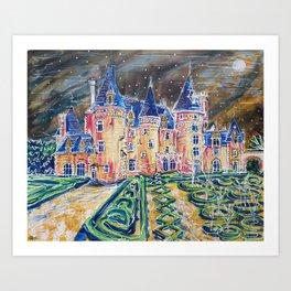 Chateau 3,366,000 Art Print