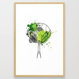 Slytherin Framed Art Print