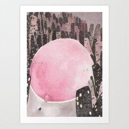 Dream-land Art Print