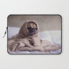 Snug pug in a rug Laptop Sleeve