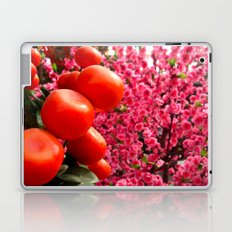 Orange Clementines and Pink Trees Laptop & iPad Skin