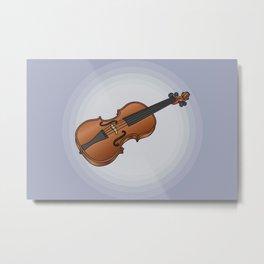 Violin / fiddle Metal Print