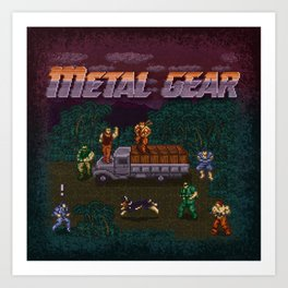 Gear Metal Art Print