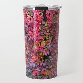 colorful leaves Travel Mug
