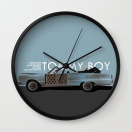 Tommy Boy Wall Clock