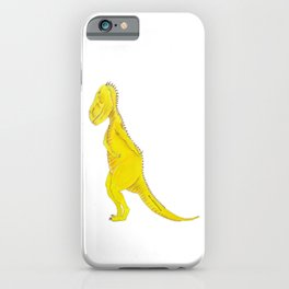 Tyrannosaurus takes a bow iPhone Case