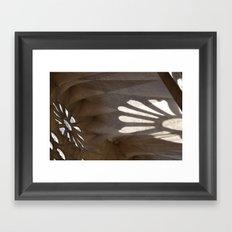 Sunlight in Sagrada Familia Framed Art Print