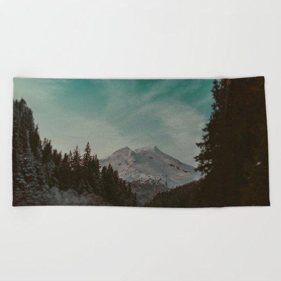 Mt. Baker Beach Towel