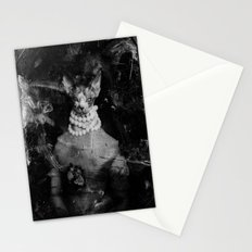 Royal sphynx decay Stationery Cards