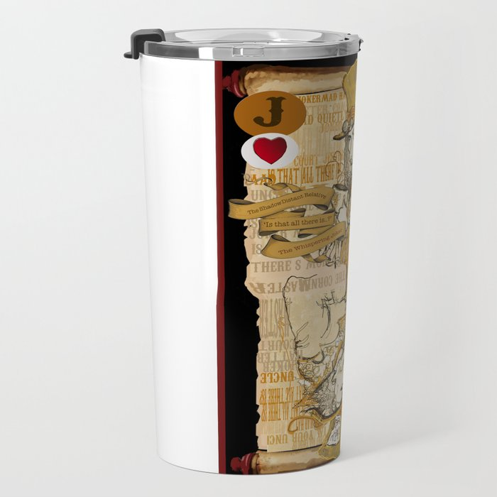 'Mad Hatter' (Alice in Steampunk Series) Travel Mug