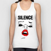 library Tank Tops featuring Library Lust by notalkingplz