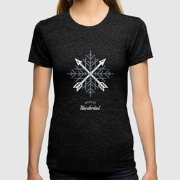 Winter Wanderlust (blue) T-shirt