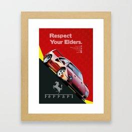 Respect Your Elders - 1 Framed Art Print