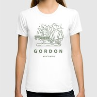 wisconsin T-shirts featuring Gordon Wisconsin  by coltgriffithdesign