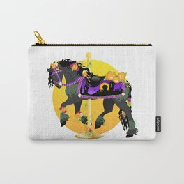 Halloween Carousel Horse Carry-All Pouch