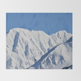 Portage Valley Mts. Throw Blanket