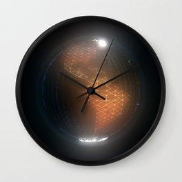Albedo: Americas By Night Wall Clock