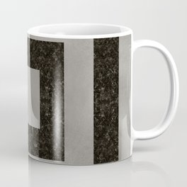 Silver Squares Coffee Mug
