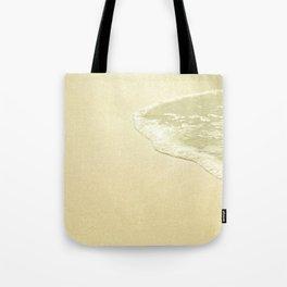 beach sparkling golden sand Tote Bag