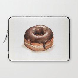 Chocolate Glazed Donut Laptop Sleeve