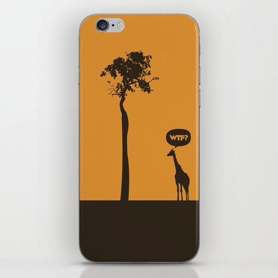 WTF? Jirafa! iPhone & iPod Skin