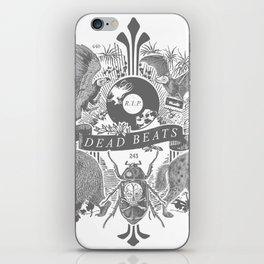DEAD BEATS iPhone Skin
