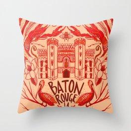 Baton Rouge Throw Pillow