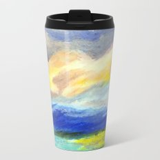 just sky and ocean Metal Travel Mug