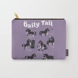 The Daily Tail Horse Carry-All Pouch