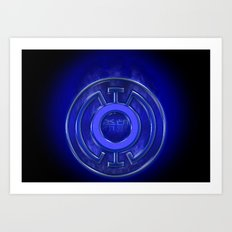 Blue Lantern Corp (Hope) Art Print