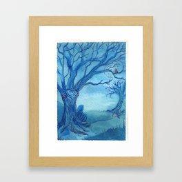 MoonTree Framed Art Print