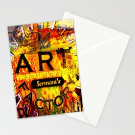 Sermani's Art Factory Stationery Cards