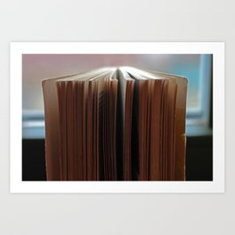 Book from 1976 Art Print