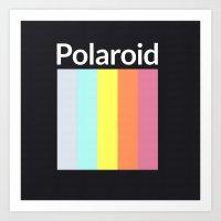 polaroid Art Prints featuring Polaroid by Good Sense