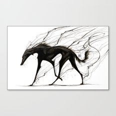 Raising Shadows Canvas Print