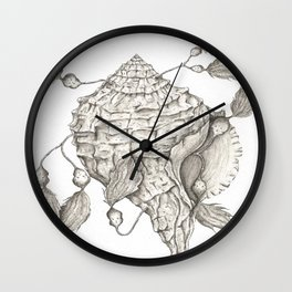 Shell of Faith Wall Clock