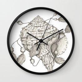 Shell of Faith Wall Clock