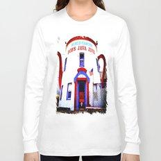 Coffee shop landmark Long Sleeve T-shirt