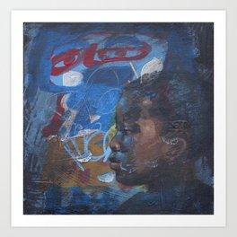 Swazi Art 11 Art Print