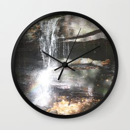 Rainbows & Waterfalls Wall Clock