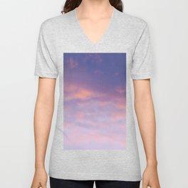 Sunset clouds Unisex V-Neck